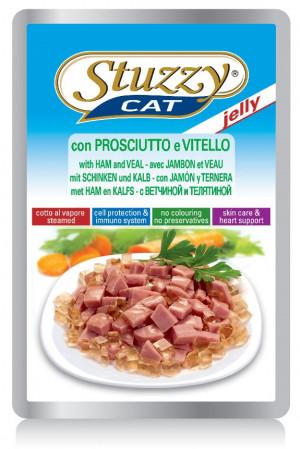 Stuzzy Cat Ham&Veal 100g