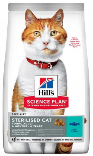 HILLS SP Hill's FELINE STERILISED CAT YOUNG ADULT TUNA ar tunci 300g