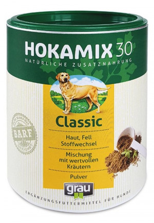 HOKAMIX 30 Classic Powder - papildbarība suņiem 800g