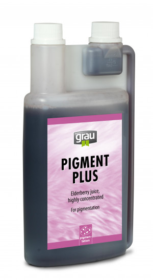 GRAU Pigment Plus Liquid - papildbarība suņiem un kaķiem 1L