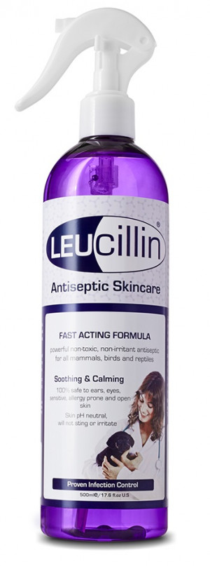 LEUCILLIN līdzeklis infekciju kontrolei dzīvniekiem 500ml