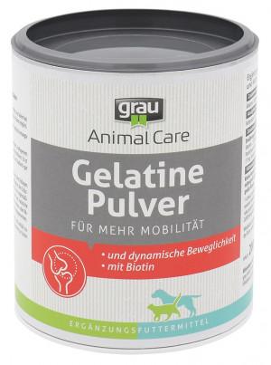 GRAU Gelatine Powder - papildbarība suņiem un kaķiem 200g