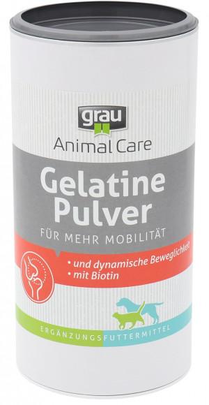 GRAU Gelatine Powder - papildbarība suņiem un kaķiem 500g