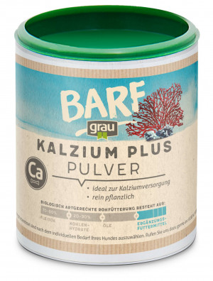 GRAU BARF Calcium PLUS - papildbarība suņiem 175g