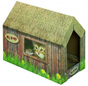 Nobby nagu skrāpis kaķiem ''Cat House Paper Board''