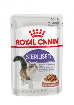 Royal Canin FHN STERILISED in Gravy 12x85g