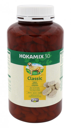 HOKAMIX 30 Classic Tablets - papildbarība suņiem 400 tab.