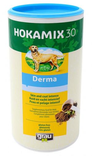 HOKAMIX 30 Derma - papildbarība suņiem 750g