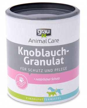 GRAU Animal Care Pure Natural Granulated Garlic - papildbarība suņiem un kaķiem 400g