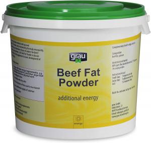 GRAU Beef Fat Powder - papildbarība suņiem un kaķiem 2kg