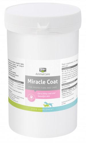GRAU Animal Care Miracle Coat - papildbarība suņiem un kaķiem 360 kaps.