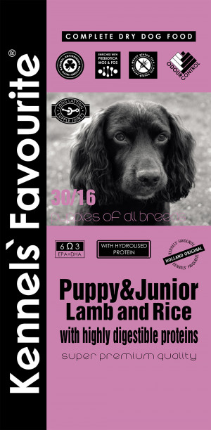 Favourite Puppy Lamb&Rice 3 x 20kg