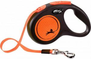 Flexi New Neon M 5m (lenta) oranža