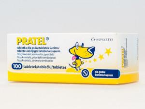 PRATEL attārpošanas tabletes suņiem N100