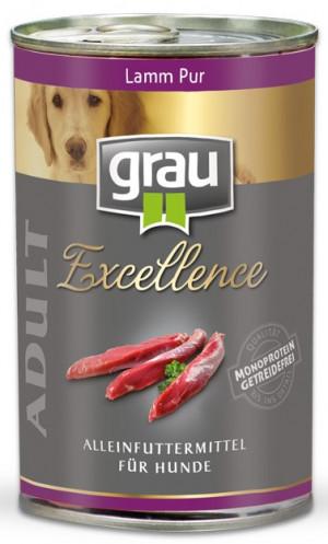 GRAU Excellence ADULT Lamb - konservi suņiem 400g
