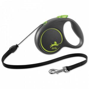 Flexi Black Design M 5m (virve) zaļa