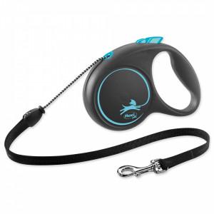 Flexi Black Design XS 3m (virve) zila