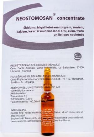 Neostomosan koncentrāts 5 x 5ml