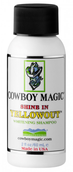 COWBOY MAGIC Yellowout Shampoo - šampūns suņiem, kaķiem, zirgiem 60ml