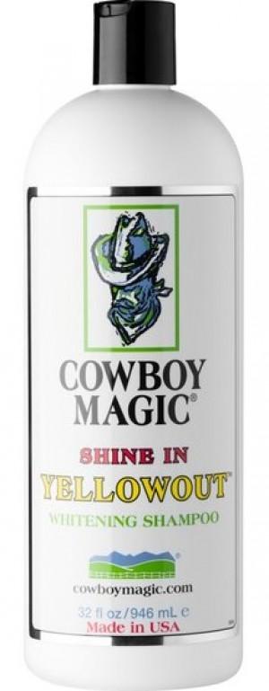 COWBOY MAGIC Yellowout Shampoo - šampūns suņiem, kaķiem, zirgiem 946ml