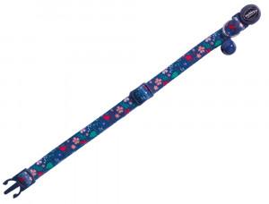 "Nobby ""Flower Dark Blue"" - kaklasiksna kaķiem, zila"
