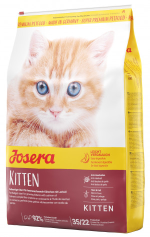 Josera Super Premium Minette Kitten 2kg + bumbiņa DĀVANĀ!
