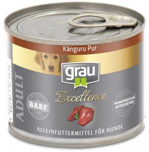 GRAU Excellence ADULT Kangaroo - konservi suņiem 200g