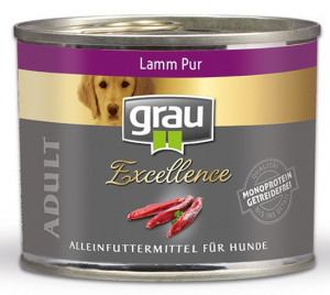 GRAU Excellence ADULT Lamb - konservi suņiem 6 x 200g