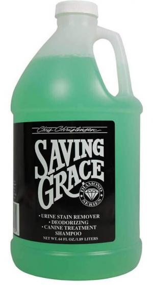 CHRIS CHRISTENSEN Saving Grace Shampoo - šampūns suņiem un kaķiem 1,89L