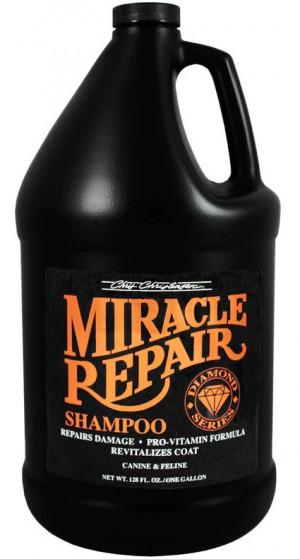 CHRIS CHRISTENSEN Diamond Miracle Repair Shampoo - šampūns suņiem un kaķiem 3,78L
