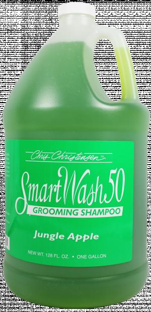 CHRIS CHRISTENSEN Smart Wash 50 Jungle Apple Grooming Shampoo - šampūns suņiem un kaķiem 3,78L