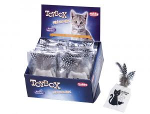 NOBBY Valerian Teabag - rotaļlieta ar baldiriāna sakni kaķiem