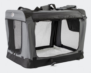 Innopet Carrier All in One - auduma transportēšanas būris, pelēks