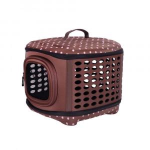 Innopet Collapsible Traveling Hand Carrier Brown - transportēšanas soma dzīvniekiem 46 x 36 x 30 cm