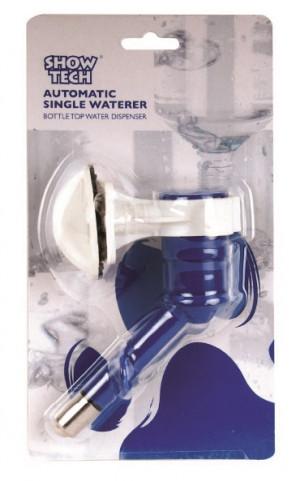 Show Tech Automatic Single Waterer Bottle Top Water Dispenser - turētājs un uzgalis pudelei
