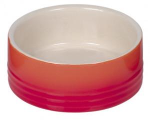 """NOBBY """"GRADIENT"""" - keramikas bļoda dzīvniekiem, oranža"""