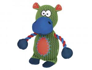 NOBBY Mesh Hippo - rotaļlieta suņiem