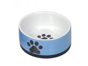 """NOBBY """"PAW"""" - keramikas bļoda dzīvniekiem, zila"""