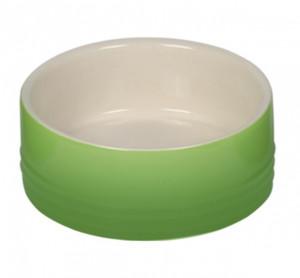 """NOBBY """"GRADIENT"""" - keramikas bļoda dzīvniekiem, zaļa"""