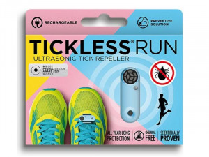 Tickless Run Ultraskaņas repelenta ierīce (USB) - zila