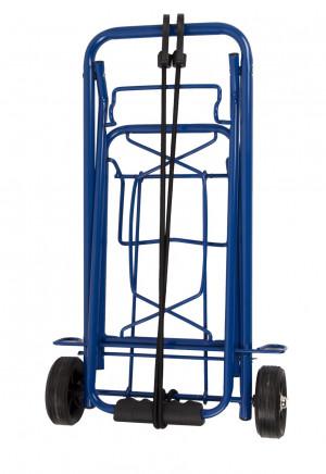 Show Tech Folding Parcel Trolley Blue 38 x 34,5 x 90cm - pārvadāšanas rati