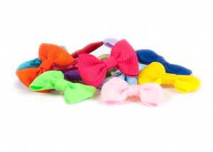 Show Tech Multicolor Bows with Elastic 50 pcs Bow - bantītes 50 gab.