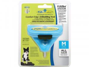 FURMINATOR FurFlex ķemmes uzgalis suņiem M