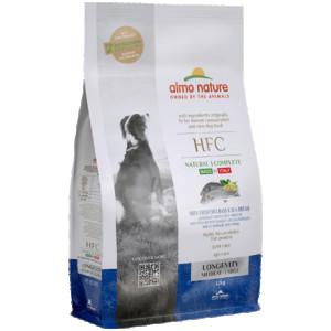 ALMO NATURE HFC DOG M/L Longevity with Sea Bass and Sea Bream - sausā barība suņiem 1,2kg