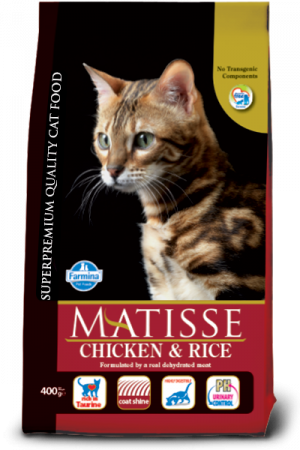 FARMINA Matisse Chicken & Rice - sausā barība kaķiem 20kg