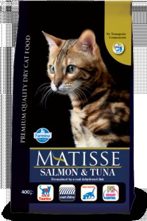FARMINA Matisse Salmon & Tuna - sausā barība kaķiem 1,5kg