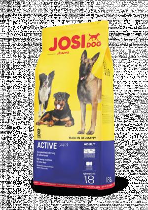 Josera JosiDog Active 15kg + 3kg DĀVANĀ!