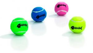 Beeztees rotaļlieta kaķiem - tenisa bumbiņa