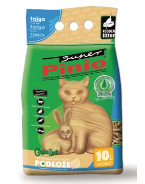CERTECH Certech Super Pinio koka granulas kaķu tualetēm, ar meža aromātu 10L