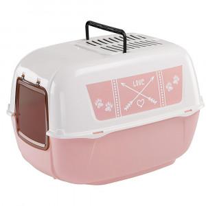 Ferplast Prima Decor Pink kaķu tualete